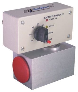 Electronic Timer Based And Mechanical Drain Valve